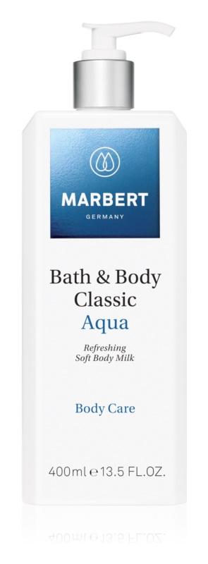 Marbert Bath & Body Classic Aqua osvěžující tělové mléko s hydratačním účinkem
