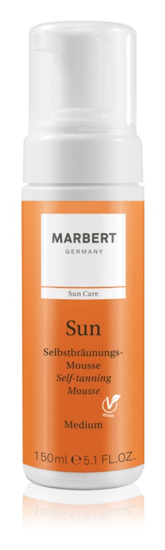 Marbert Sun мус для автозасмаги