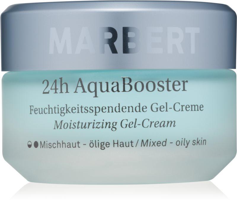 Marbert Moisture Care 24h AquaBooster hydratačný gélový krém pre mastnú a zmiešanú pleť