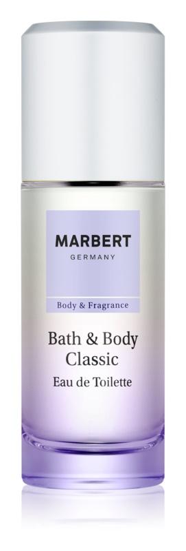 Marbert Bath & Body Classic toaletní voda pro ženy 50 ml