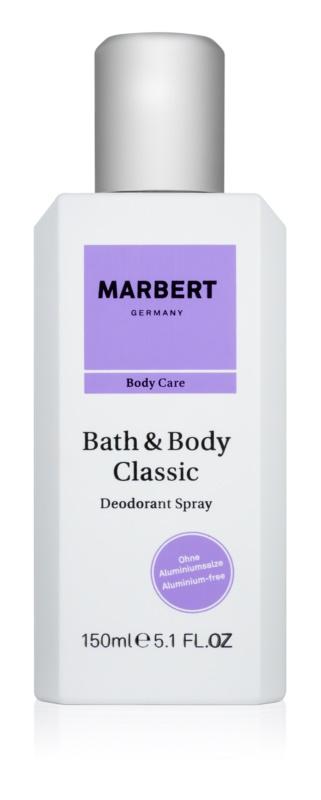 Marbert Bath & Body Classic deospray pro ženy 150 ml