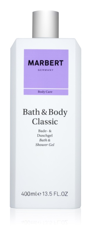 Marbert Bath & Body Classic sprchový gel pro ženy 400 ml