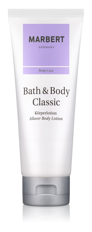 Marbert Bath & Body Classic lotion corps pour femme 200 ml
