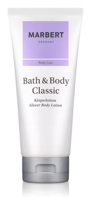 Marbert Bath & Body Classic testápoló tej nőknek 200 ml