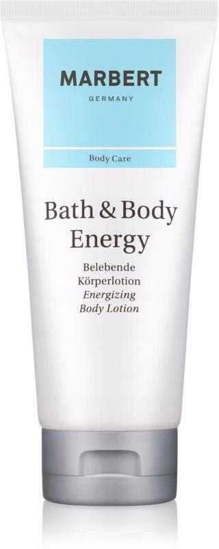 Marbert Bath & Body Energy testápoló tej nőknek 200 ml