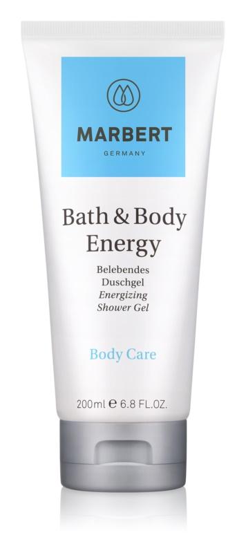 Marbert Bath & Body Energy sprchový gel pro ženy 200 ml