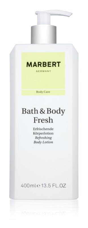 Marbert Bath & Body Fresh testápoló tej nőknek 400 ml