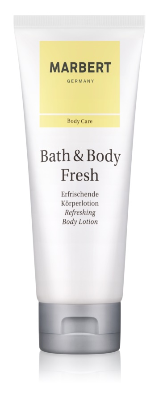 Marbert Bath & Body Fresh mleczko do ciała dla kobiet 200 ml