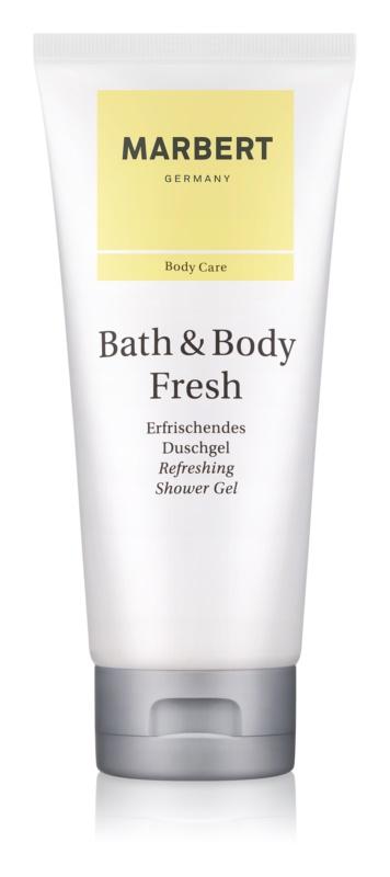 Marbert Bath & Body Fresh gel de dus pentru femei 200 ml