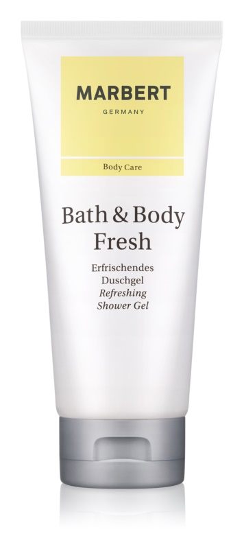 Marbert Bath & Body Fresh Shower Gel for Women 200 ml