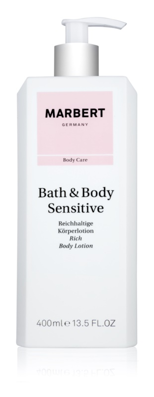 Marbert Bath & Body Sensitive Nourishing Body Milk