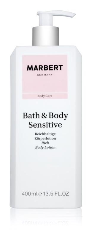 Marbert Bath & Body Sensitive výživné telové mlieko