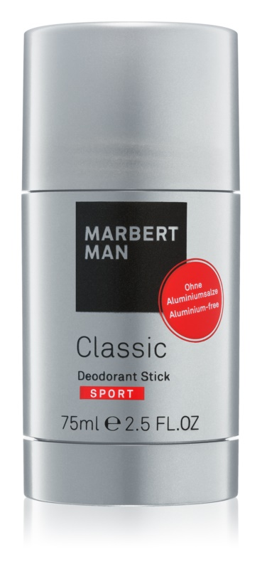 Marbert Man Classic Sport Deodorant Stick for Men 75 ml