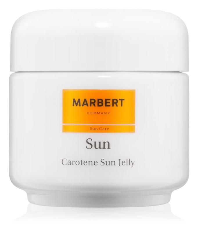 Marbert Sun Carotene Sun Jelly gel bronzant visage et corps SPF 6