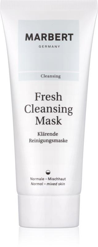 Marbert Fresh Cleansing čisticí jílová pleťová maska pro normální až smíšenou pleť