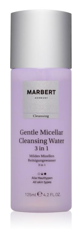 Marbert Gentle Micellar água de limpeza 3 em 1
