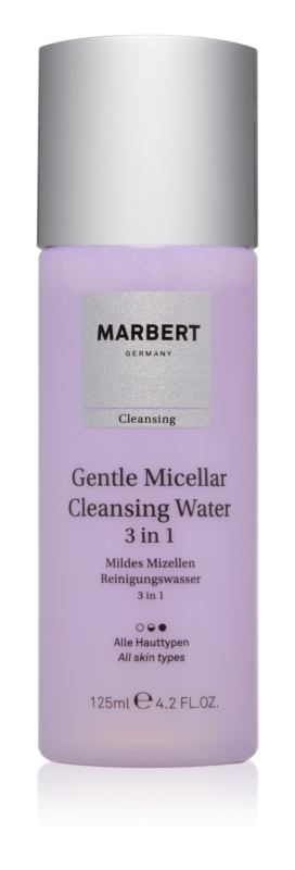 Marbert Gentle Micellar čisticí voda 3 v 1