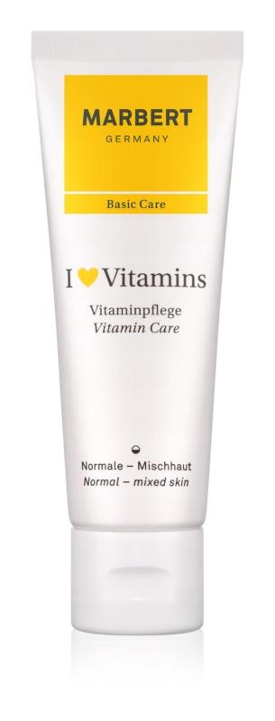 Marbert Basic Care I ♥ Vitamins Nourishing Cream for Normal and Combination Skin