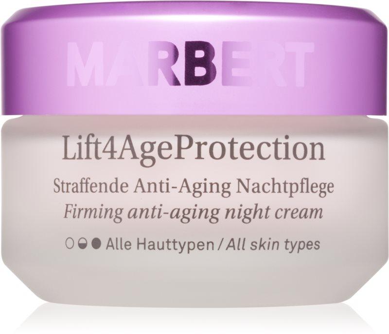 Marbert Anti-Aging Care Lift4AgeProtection spevňujúci nočný krém proti vráskam