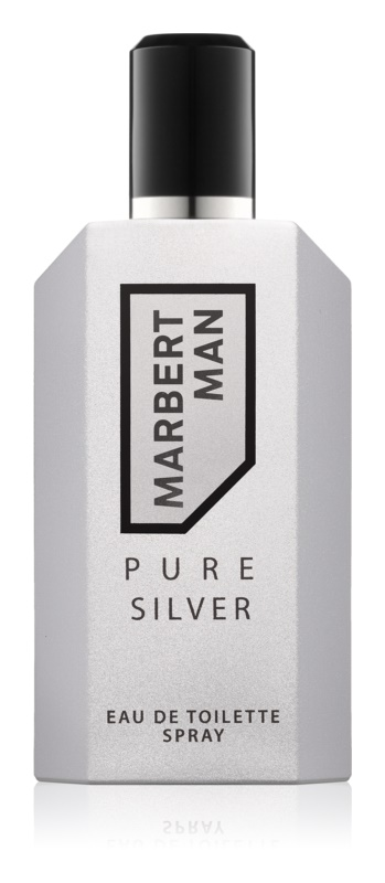 Marbert Man Pure Silver Eau de Toilette para homens 125 ml