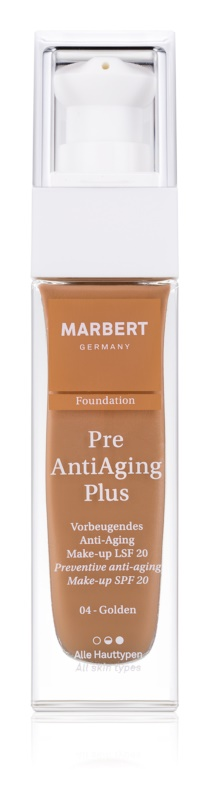 Marbert PreAntiAgingPlus puder protiv starenja kože SPF 20