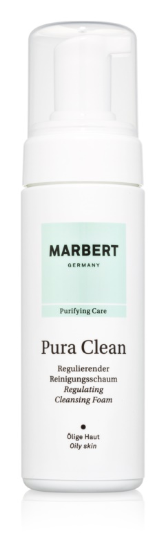 Marbert PuraClean Cleansing Foam To Treat Skin Imperfections