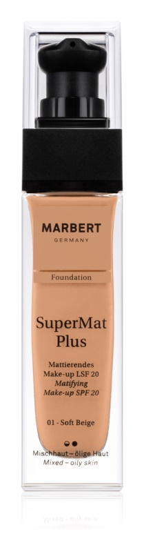 Marbert SuperMatPlus тональний крем з матуючим ефектом SPF 20