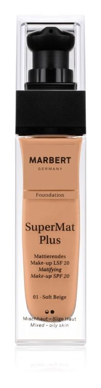 Marbert SuperMatPlus matující make-up SPF 20