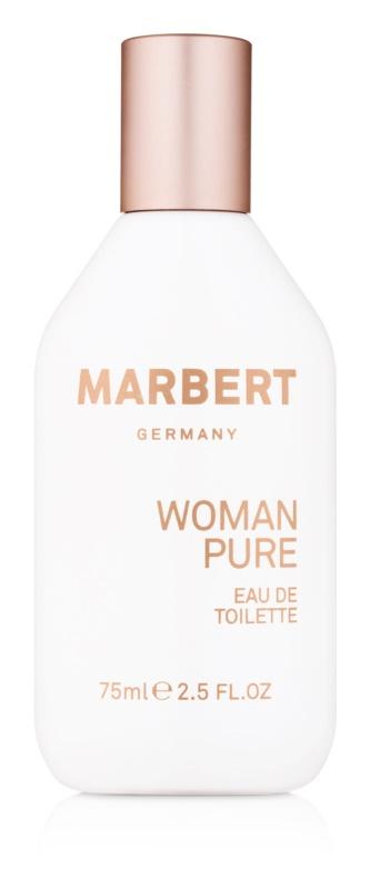 Marbert Woman Pure eau de toilette pentru femei 75 ml