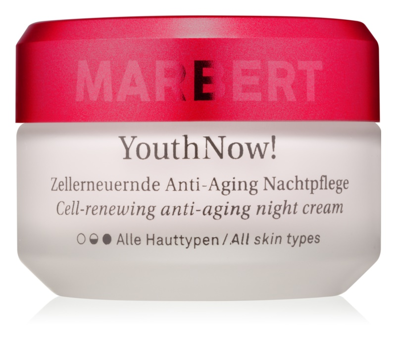 Marbert Anti-Aging Care YouthNow! Anti-Wrinkle Night Cream For Skin Cells Recovery