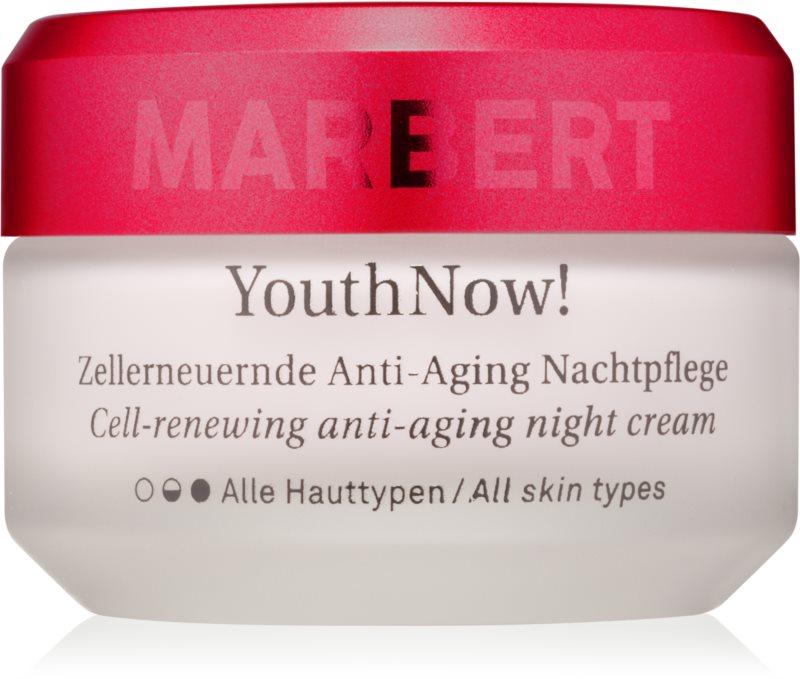 Marbert Anti-Aging Care YouthNow! nočna krema proti gubam za obnovo kožnih celic
