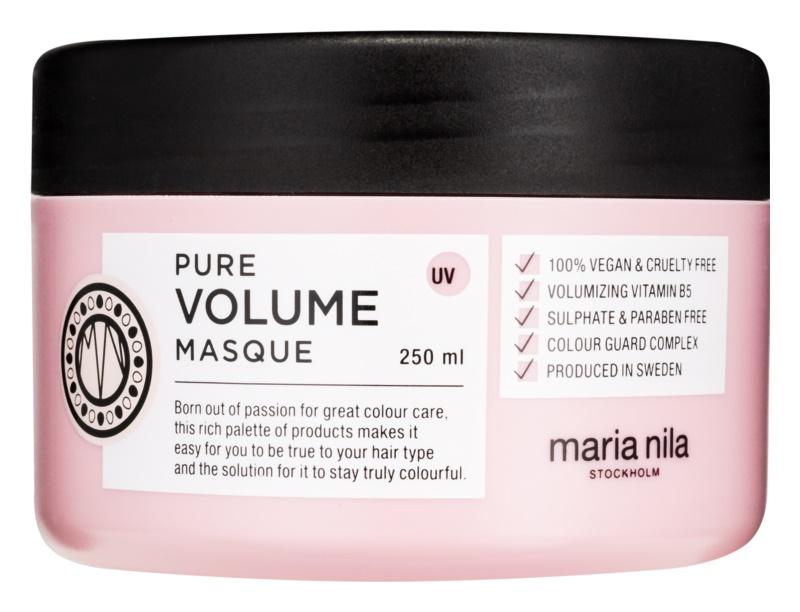 Maria Nila Pure Volume Feuchtigkeitsspendende Maske mit ernährender Wirkung