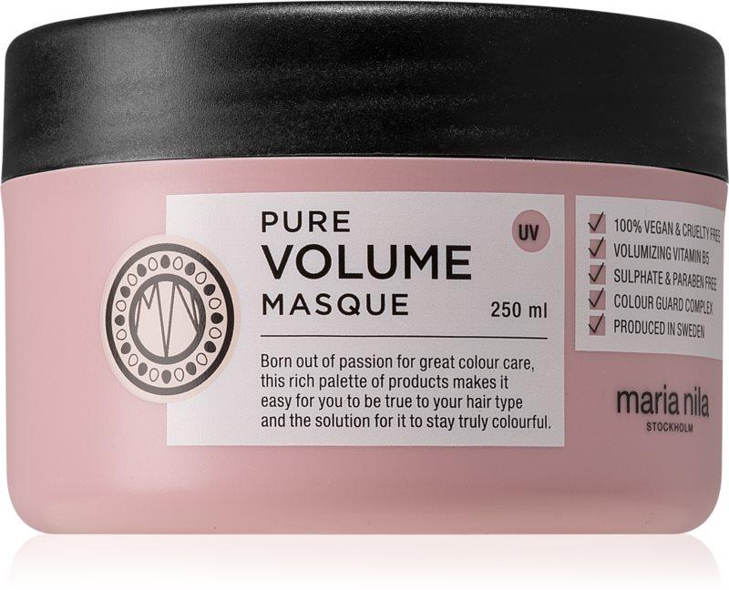Maria Nila Pure Volume hydratační a vyživující maska