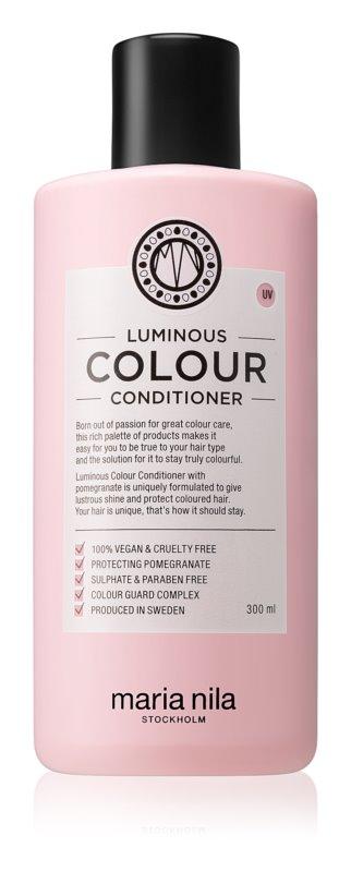 Maria Nila Luminous Colour Aufhellender und stärkender Conditioner für coloriertes Haar ohne Sulfat und Parabene