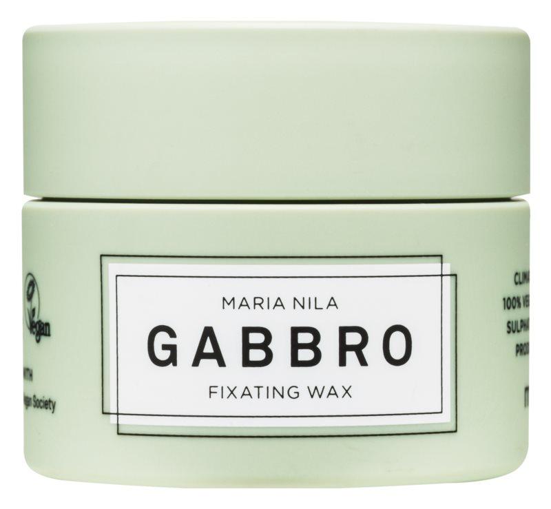 Maria Nila Minerals Gabbro rychleschnoucí tvarující vosk pro kráké vlasy