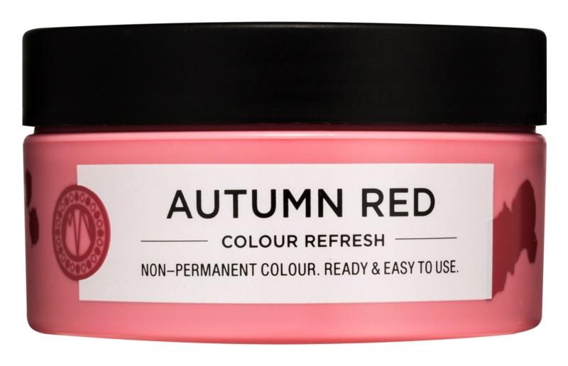 Maria Nila Colour Refresh Autumn Red jemná vyživujúca maska bez permanentných farebných pigmentov
