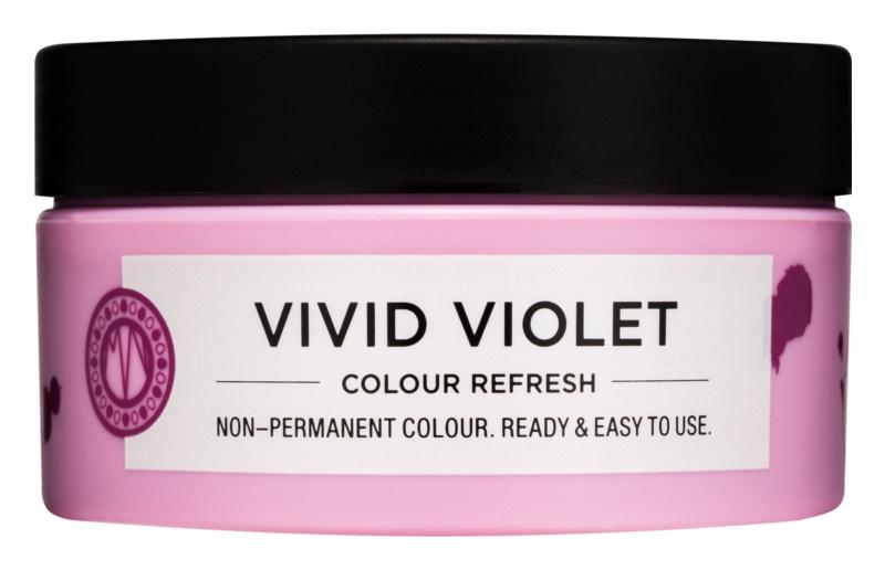 Maria Nila Colour Refresh Vivid Violet jemná vyživujúca maska bez permanentných farebných pigmentov