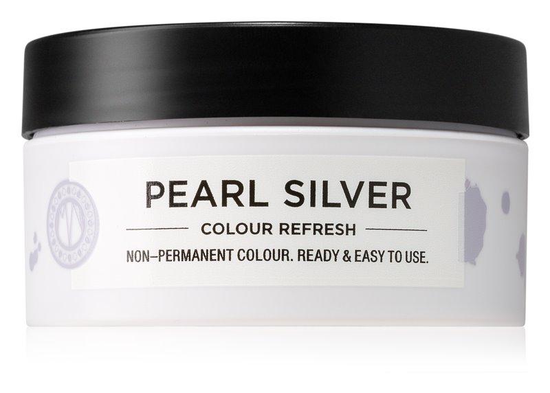 Maria Nila Colour Refresh Pearl Silver jemná vyživující maska bez permanentních barevných pigmentů