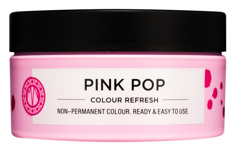 Maria Nila Colour Refresh Pink Pop Sanfte nährende Maske ohne permanente Farbpigmente