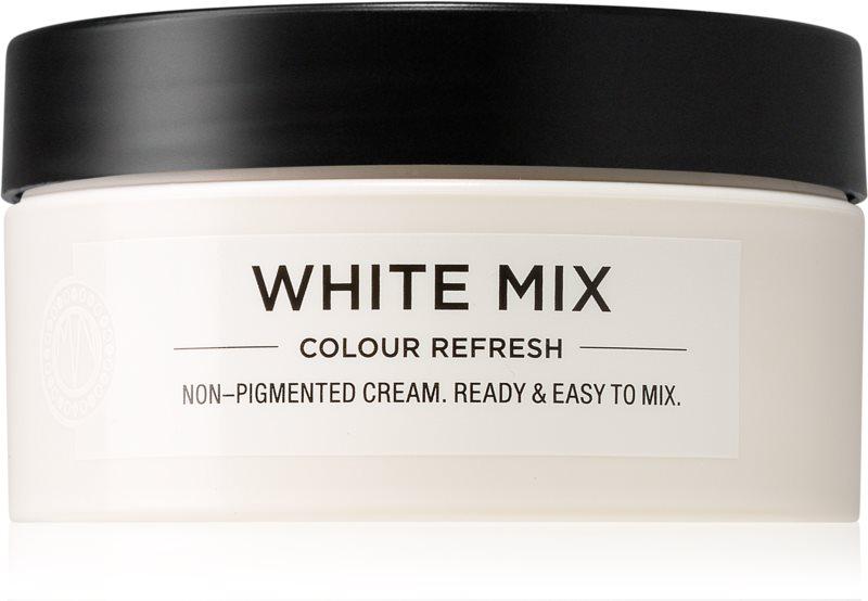 Maria Nila Colour Refresh White Mix vyživující maska bez barevných pigmentů k dotvoření pastelových odstínů