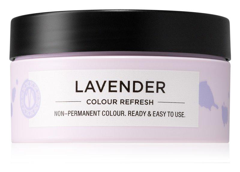 Maria Nila Colour Refresh Lavender jemná vyživující maska bez permanentních barevných pigmentů