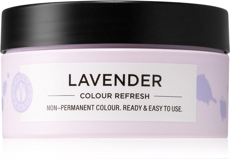 Maria Nila Colour Refresh Lavender jemná vyživujúca maska bez permanentných farebných pigmentov