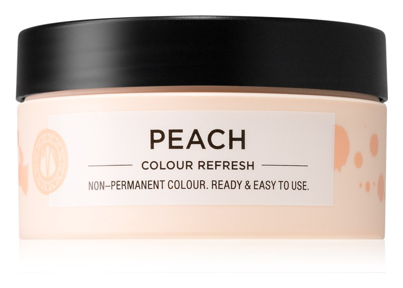 Maria Nila Colour Refresh Peach jemná vyživující maska bez permanentních barevných pigmentů