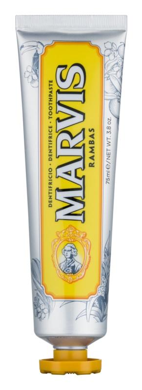 Marvis Limited Edition Rambas Zahnpasta