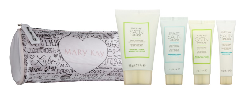 Mary Kay Satin Hands lote cosmético IV.