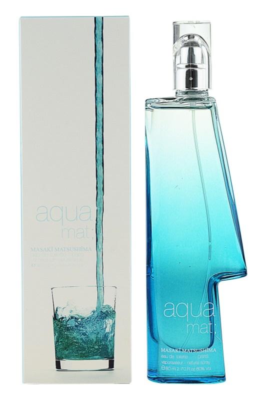 Masaki Matsushima Aqua Mat; Homme Eau de Toilette for Men 80 ml