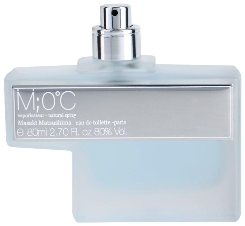 Masaki Matsushima M 0°C Men woda toaletowa tester dla mężczyzn 80 ml