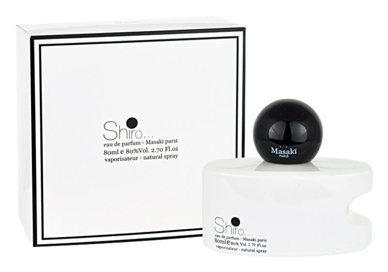 Masaki Matsushima Shiro eau de parfum pentru femei 80 ml