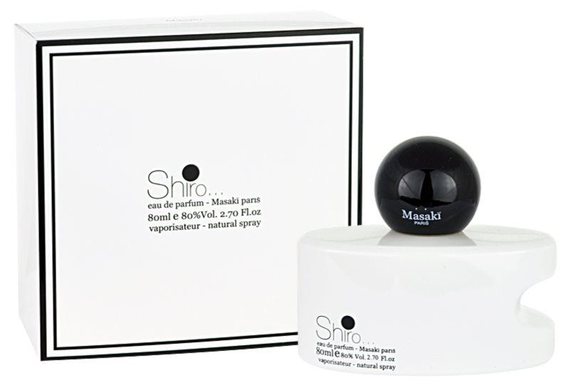 Masaki Matsushima Shiro Parfumovaná voda pre ženy 80 ml
