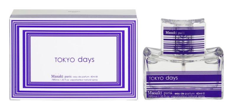Masaki Matsushima Tokyo Days eau de parfum pour femme 40 ml